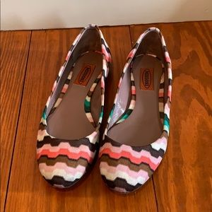 Missoni Multi-Colored Flats size 36